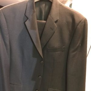 Barely worn Calvin Klein 100% pure wool suit
